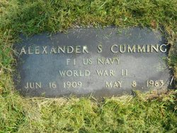 Alexander S. Cumming