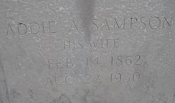 Addie A. <i>Sampson</i> Appleyard