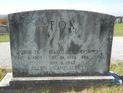 Harold R. Fox