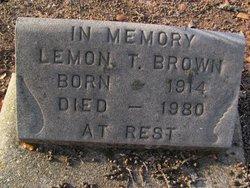 Lemon T Brown