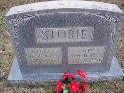 Callie Salina <i>Hatton</i> Storie