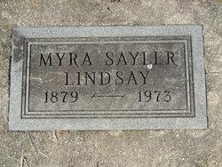 Myra <i>Sayler</i> Lindsay