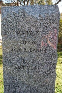 Mary E. <i>Harvey</i> Daniel