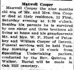 Maxwell Cooper