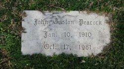 John Gaston Peacock