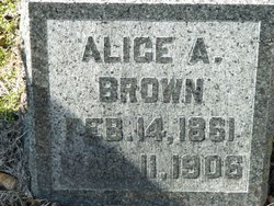 Alice A Brown