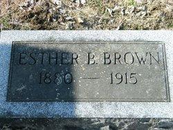 Esther <i>Breeding</i> Brown