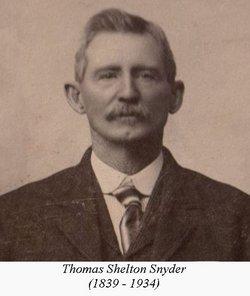 Thomas Shelton Snyder