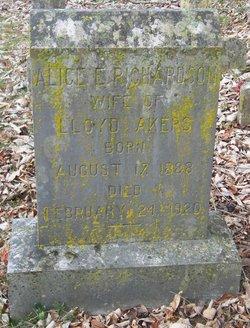 Alice E. <i>Richardson</i> Akers