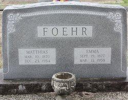 Emma <i>Braune</i> Foehr