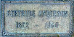 Gertrude <i>Gunderson</i> Anderson