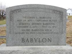 Trueman L Babylon