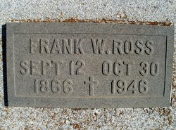 Francis William Frank Ross