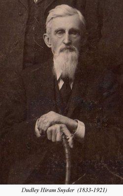 Capt Dudley Hiram Snyder