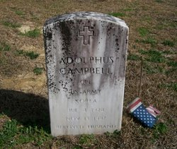 Corp Adolphus Campbell