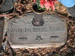 Joann Eva <i>Rummel</i> Bachman