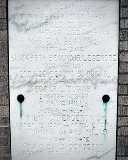 Ernestine Marie <i>Ledet</i> Beauvais