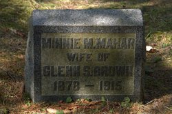 Minnie M. <i>Mahar</i> Brown