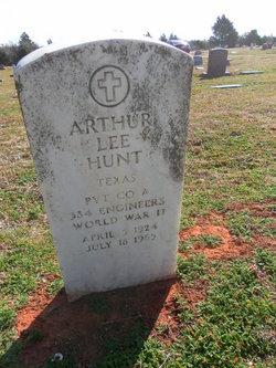Arthur Lee Hunt