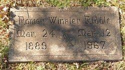 Romer Winkler Riddle