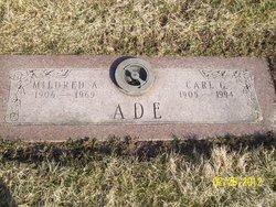 Mildred A. <i>DeBoy</i> Ade