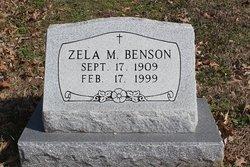Zela M. <i>Seago</i> Benson