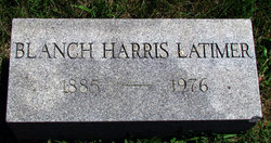 Blanche Letitia <i>Harris</i> Latimer