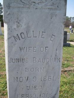 Mary E Mollie <i>Boone</i> Baugham