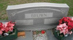 Allie M. <i>McAlister</i> Brown