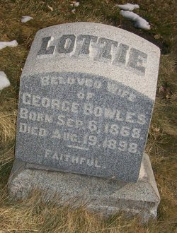 Charlotte Ann Lottie <i>Taylor</i> Bowles