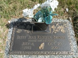 Betty Jean <i>Ramseur</i> Brendle