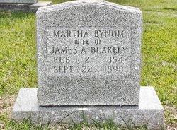 Martha A <i>Bynum</i> Blakely