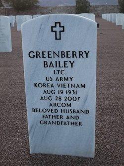 Greenberry Joe Bailey