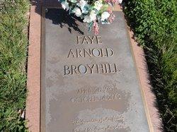 Faye Arnold Broyhill