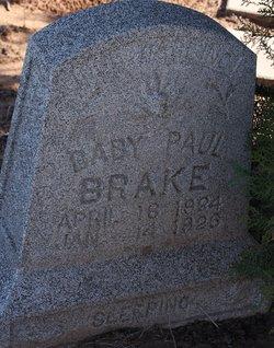 Paul Edward Brake