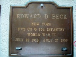 Pvt Edward Deane Beck