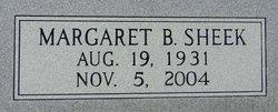 Margaret B. <i>Sheek</i> Draughn