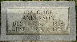 Ida <i>Guice</i> Anderson