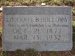 Lucious Boliver Holloway