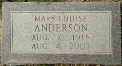 Mary Louise Anderson