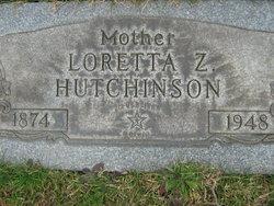 Loretta Alice <i>Zillifro</i> Hutchinson