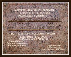 James William Bill Holdeman