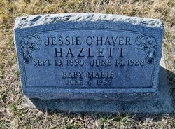 Jessie Virginia <i>O'Haver</i> Hazlett