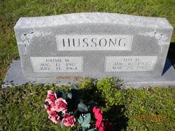 Ada Mae <i>Webster</i> Hussong