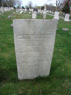 Mrs Lydia <i>Hopkins</i> Crosby