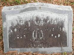 Sarah Lela <i>Williams</i> Wright