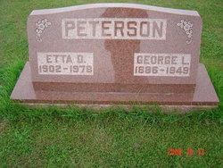 Etta Doris <i>Mackie</i> Peterson