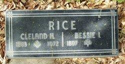 Cleland Henry Rice