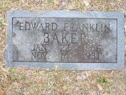 Edward Franklin Baker