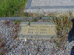 Sarah S. Suckey <i>Pittman</i> Andrews